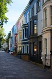 Typical buildings in notting hill royalty free stock images