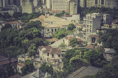 Typical buildings in old part of Rio de Janeiro Stock Photos
