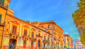 Typical buildings in Palermo, Sicily Stock Images