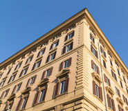 Typical Buildings in Rome Stock Photos