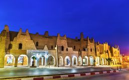 Typical buildings in Touggourt, Algeria Stock Photography