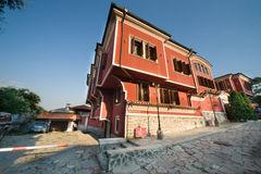 Typical Bulgarian architecture of the Middle Ages Stock Photography