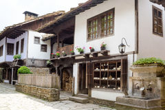 Typical Bulgarian architecture from the period of Ottoman empiri Stock Images