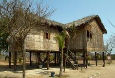 Typical bungalow architecture in the ecuadorian Stock Photos