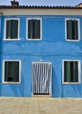 Typical Burano house Stock Image