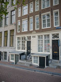 Typical canal house on Herengracht in Amsterdam Royalty Free Stock Images