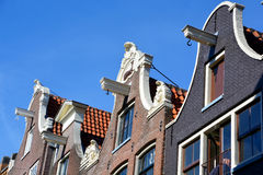 Typical canal Houses Royalty Free Stock Photography