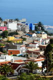 Typical Canarian Spanish House Building Royalty Free Stock Photos