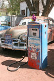 Typical car along Route 66 in Arizona, USA. Stock Photos