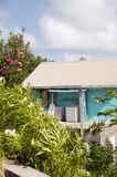 Typical caribbean style house Royalty Free Stock Photo