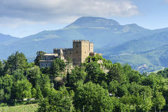 Typical castle in Marche Royalty Free Stock Image