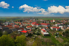 Typical central-european village Royalty Free Stock Photos
