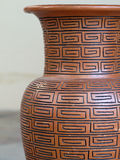 Typical ceramic vase Royalty Free Stock Images