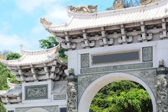 Typical chinese entrance royalty free stock photography