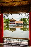Chinese Garden. Singapore. A typical Chinese house with garden. Singapore Stock Images