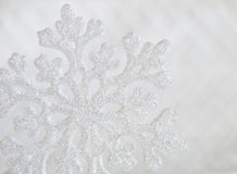 Typical christmas. Recreation snowflake abstract background with typical christmas Stock Photos