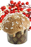 Typical Christmas cake from Milan (Italy) Stock Image