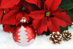 Typical Christmas Symbols Stock Photography