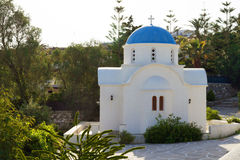 Typical church in Greece Royalty Free Stock Photo