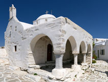 Typical church in Greece Stock Image