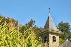 Typical church in Walloon, Belgium Stock Photos