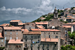 Typical City of Corsica Stock Image