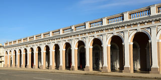Typical colonial Cuban architecture Royalty Free Stock Image