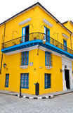 Typical colorful house in Old Havana Stock Images