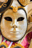 Typical colorful mask from the venice carnival, Venice Royalty Free Stock Photo