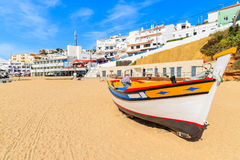 Free Typical Colourful Fishing Boat Stock Photography - 63081412