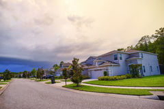 A typical community in Florida Royalty Free Stock Photography