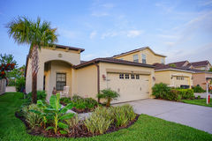 A typical community in Florida Royalty Free Stock Photos