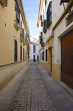 Typical Cordoba street Royalty Free Stock Photos