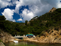 Typical Costa Brava landscape Royalty Free Stock Image