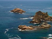 Typical Costa Brava landscape Stock Image