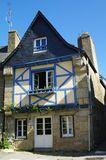 Typical country house in brittany. Timber framed house in brittany Stock Images