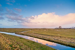 Typical country landscape Royalty Free Stock Image
