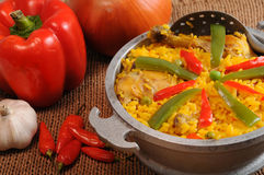Typical cuban food Stock Image