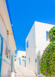 Typical Cycladic scene Stock Images