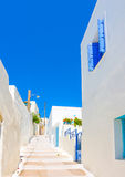 Typical Cycladic scene Royalty Free Stock Image