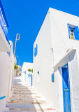 Typical Cycladic scene Stock Photography