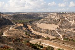 Typical cyprus landscape Royalty Free Stock Photos