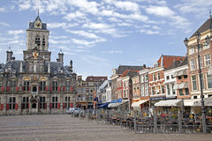 Delft architecture Royalty Free Stock Photography