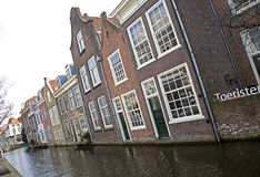 Delft canals Stock Images