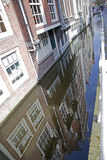 Delft canals Stock Photos