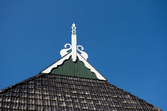 Typical detail Dutch farmhouse Stock Image