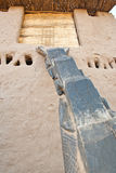 Typical Dogon ladder, Mali (Africa). Used by the Dogon to climb to upper floors of houses and granaries Stock Photos
