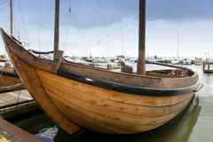 Typical dutch boat Royalty Free Stock Image