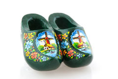 Typical Dutch clogs Royalty Free Stock Photos