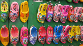 Typical Dutch clogs Royalty Free Stock Images